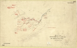 Map - Buckingham 114 - parish of Tyenna, sketch plan showing various landholders and position of good land on Russell Falls River - surveyor Thomas Frodsham