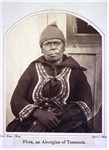 Flora, an Aborigine of Tasmania