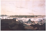 New South Wales, 1810: view of Sydney from the west side of the cove No. 3