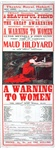 Miss Maud Hildyard: A warning to women