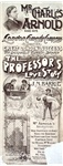 Mr Charles Arnold and his London Comedy Company: The professor's love story