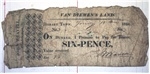 Six-pence [promissory note]