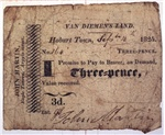 Three-pence [promissory note]