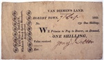 One shilling [promissory note]