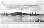 Flying Squadron in the Derwent River, Hobart Town, January 7th, 1870