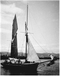 Huon Chief - Lady Franklin's yacht? [starboard side]