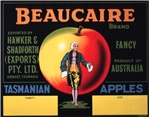 Beaucaire Brand Tasmanian apples