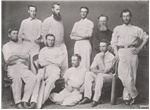 Tasmanian [Cricket] Team which played Victoria in 1867