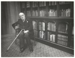 Sir William Crowther, Hobart, April 1979 [ in the W. L. Crowther Library]