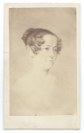 Lady Jane Franklin from a sketch by T. Bock, Hobart Town, about 1840