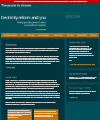 Cover image for Power to choose electricity reform and you.