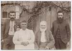 Fanny Cochrane Smith with William Smith and two of their sons